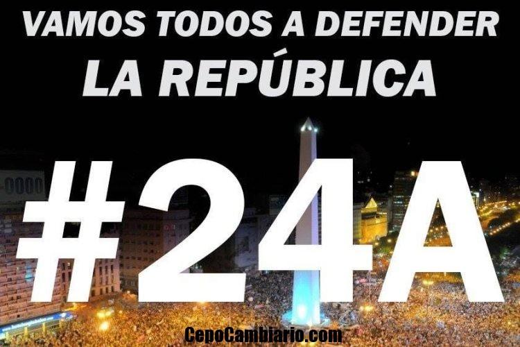 Mañana sábado marcha masiva para apoyar a Macri 24/08 17hs desde el Obelisco
