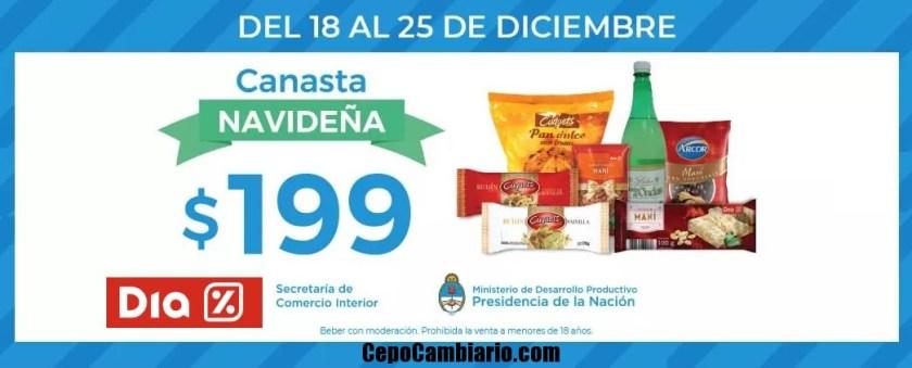 Canasta Navideña del Gobierno $199 en todos los supermercados del país