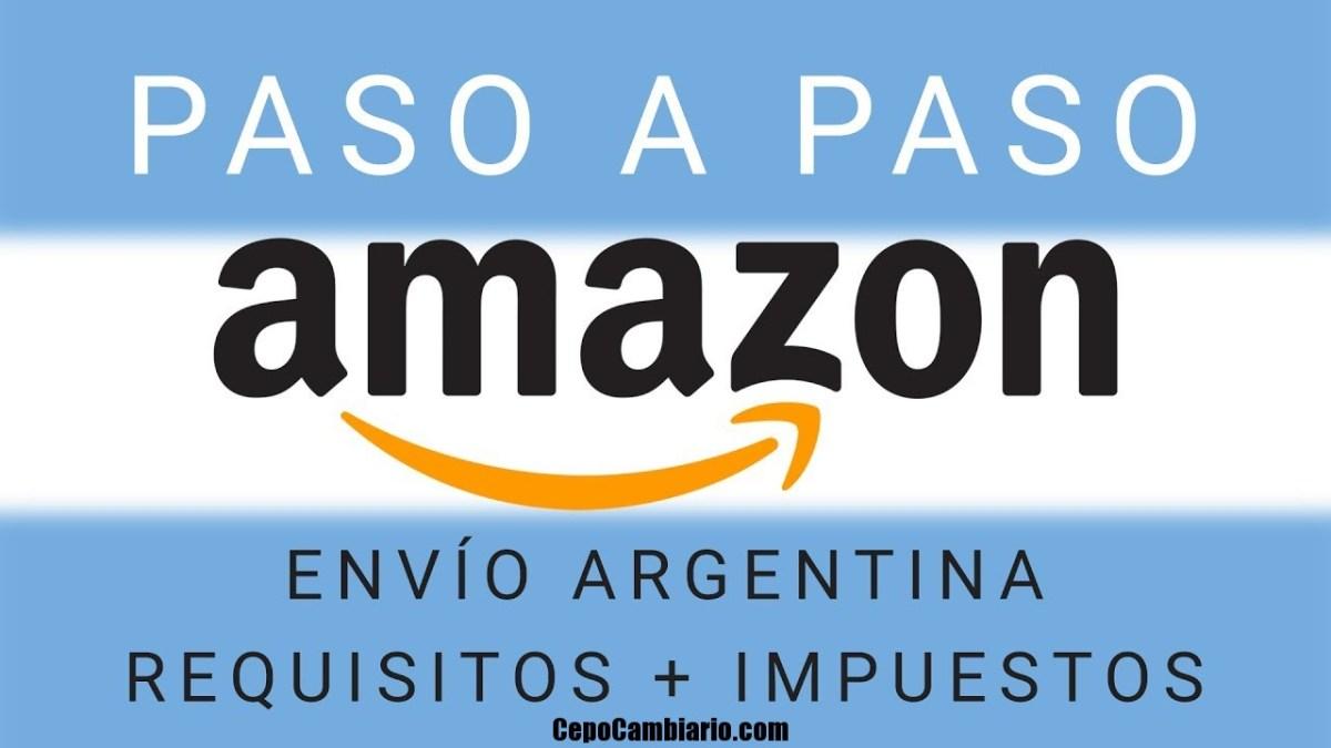 Comprar en Amazon y que te llegue a tu casa sin pasar por Aduana ni Afip