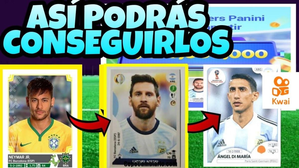 Se necesita una Cuenta nueva de Kwai para conseguir el Sticker de Messi y tenemos 9