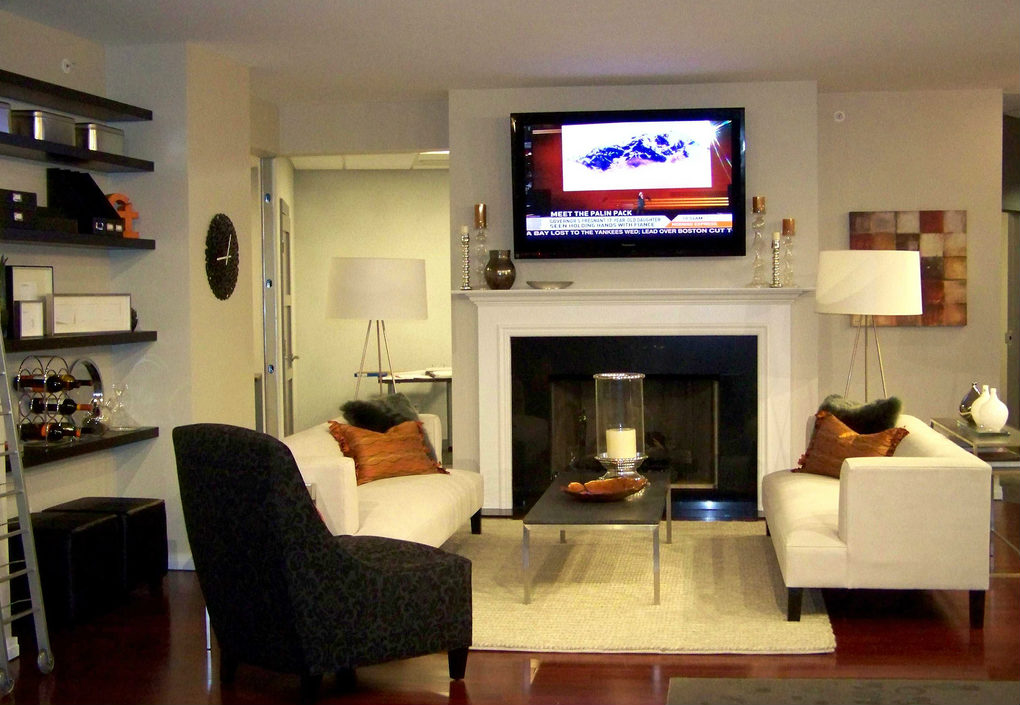 Fireplace Mount Tv Above Gas Fireplace Installing The Pictures 3 Myths About Mounting Tvs Over Fireplaces - Ce Pro