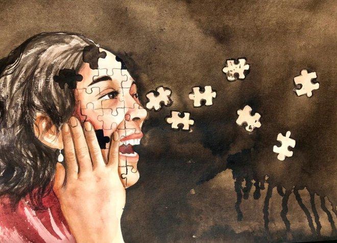 La angustia de ser destruida