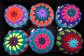Retro Crochet Ornaments