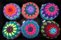 Retro Crochet Ornaments