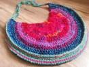 Recycled Sari Silk Purse - Cera Boutique