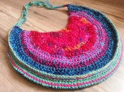 Recycled Sari Silk Purse - Cera Boutique
