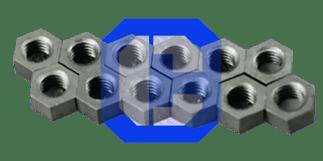 Titanium-Zirconium-Molybdenum Hex Nuts from CeraMaterials