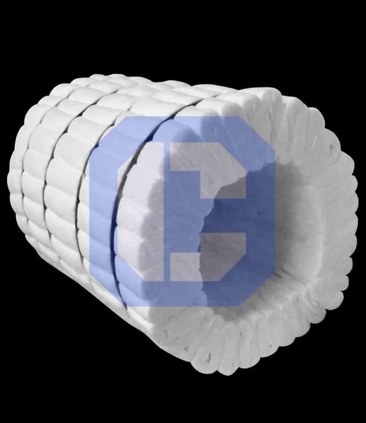 Ceramic Fiber Modules from CeraMaterials