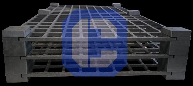Carbon Fiber Composite Modular Grid Design from CeraMaterials