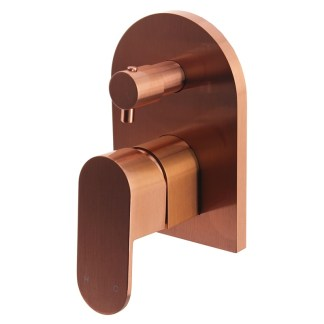 Camilla Shower Diverter Rose Gold