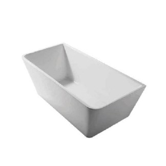 Lars Rectangle Back To Wall Bath Tub 1500 Ceramica Homes