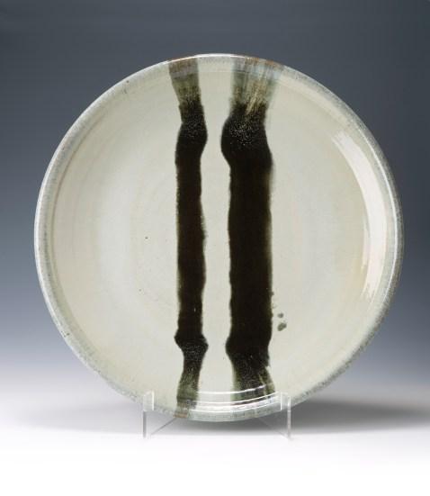 Hake J 1.jpeg. (2015) Large Platter 65 cm