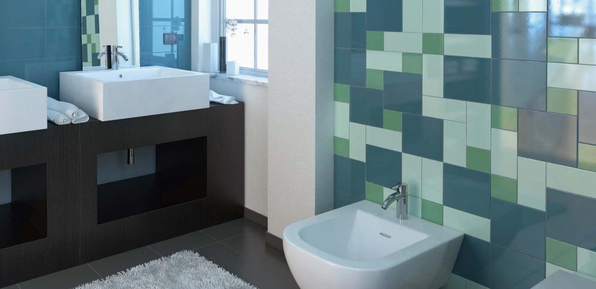 Piastrelle Bagno Turchese : Bagno bianco e turchese bagno in bianco e nero cerlovers design