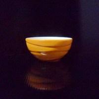 ถ้วยลายคลื่น 3″ส้ม