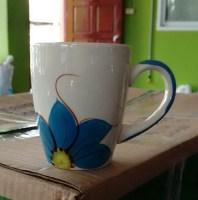 แก้วมักดอก-ชบาน้ำเงิน