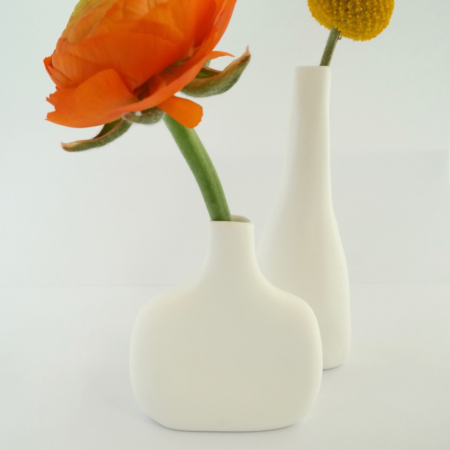 Small Vases in Bone China