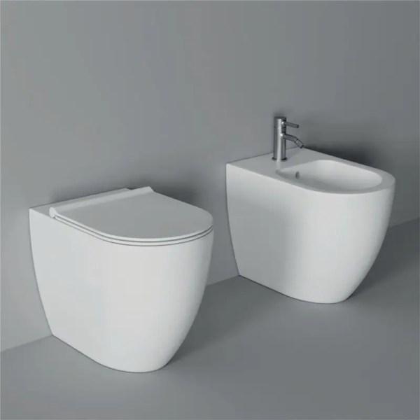 Alice Ceramica Vaso e Bidet Serie Form a Terra