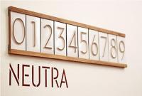 Neutra House Numbers by Heath Ceramics | ceramicity