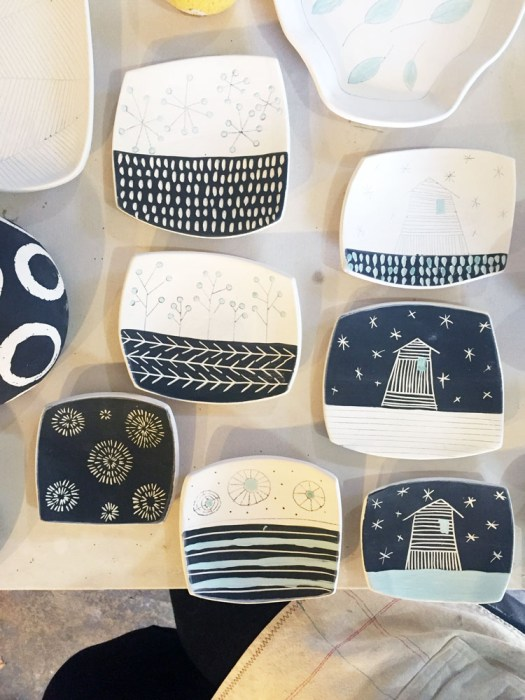 Ceramicscapes - small dishes