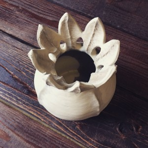 Ceramicscapes - Botanic Inspired Ceramic Work - Seed Pod Vase
