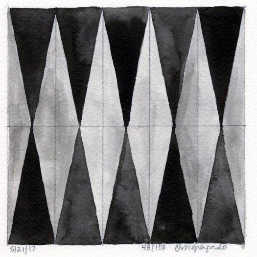 Cindy Guajardo - 100 Days of Pattern 48