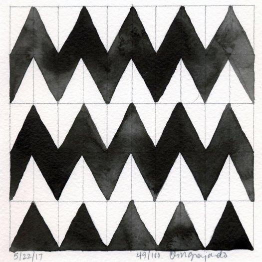 Cindy Guajardo - 100 Days of Pattern 49