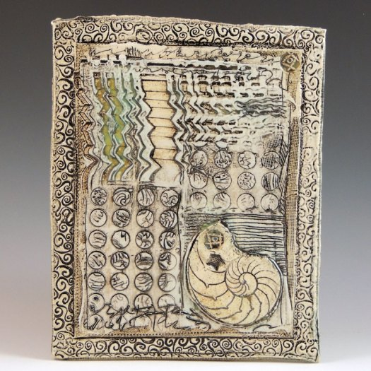 Kathleen Laurie - Paper Clay Ceramic Wall Canvas