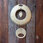 CeramicScapes - Ceramic Macrame Wall Hanging