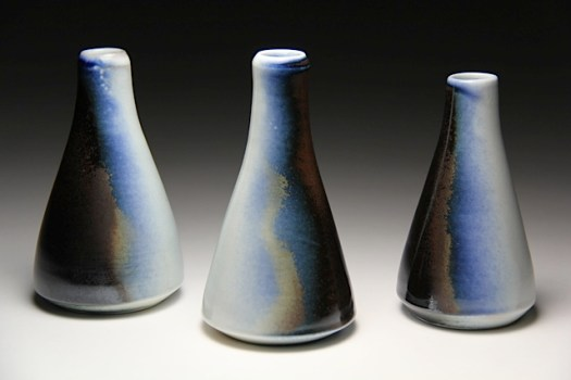 Jamie Kelly of Red Beard Studio - Soda Fired Bottles