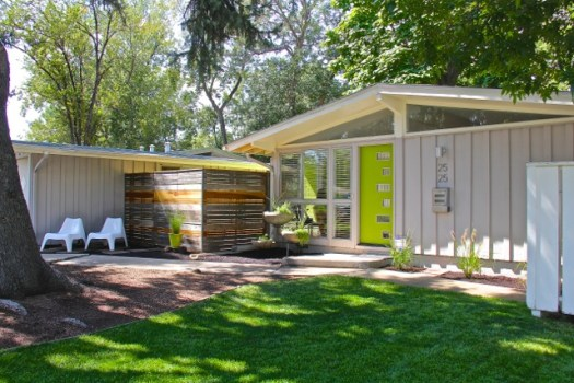 Jamie Kelly's Cliff May Mid Century Modern Home
