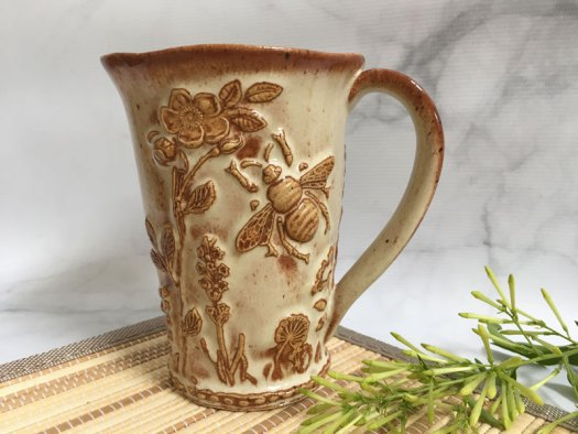 Karrita Renzelmann of Queen Bee Pottery - Mug