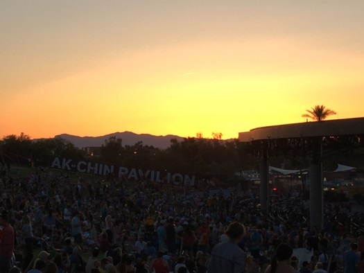 Ak-Chin Pavilion Sunset