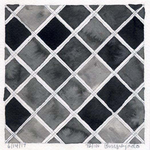 Cindy Guajardo 100 Days of Pattern 72