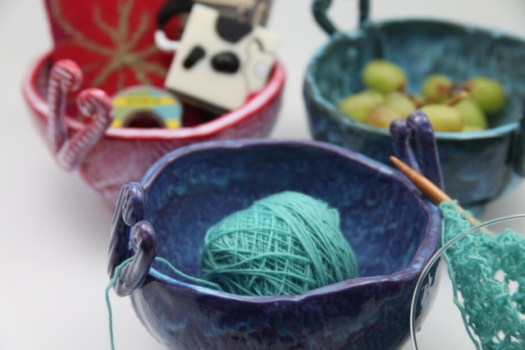 Laura Silberman of Clay by Laura - Yarn Bowls