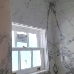 Bathroom Tile Remodeling Marble Bookmatching Palm Beach 2