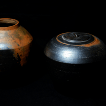 Collection Sigillata- Ceramic Studio Grès sigillé, enfumage basse température