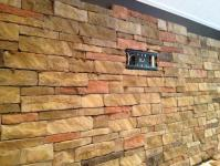 Ceramictec - Interior Dry Stacked Stone Veneer Accent Wall