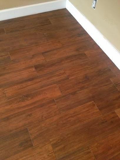 Odessa Florida Master bedroom 624 Hickory plank tile