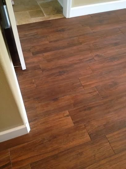 Odessa Florida Master bedroom 624 Hickory plank tile