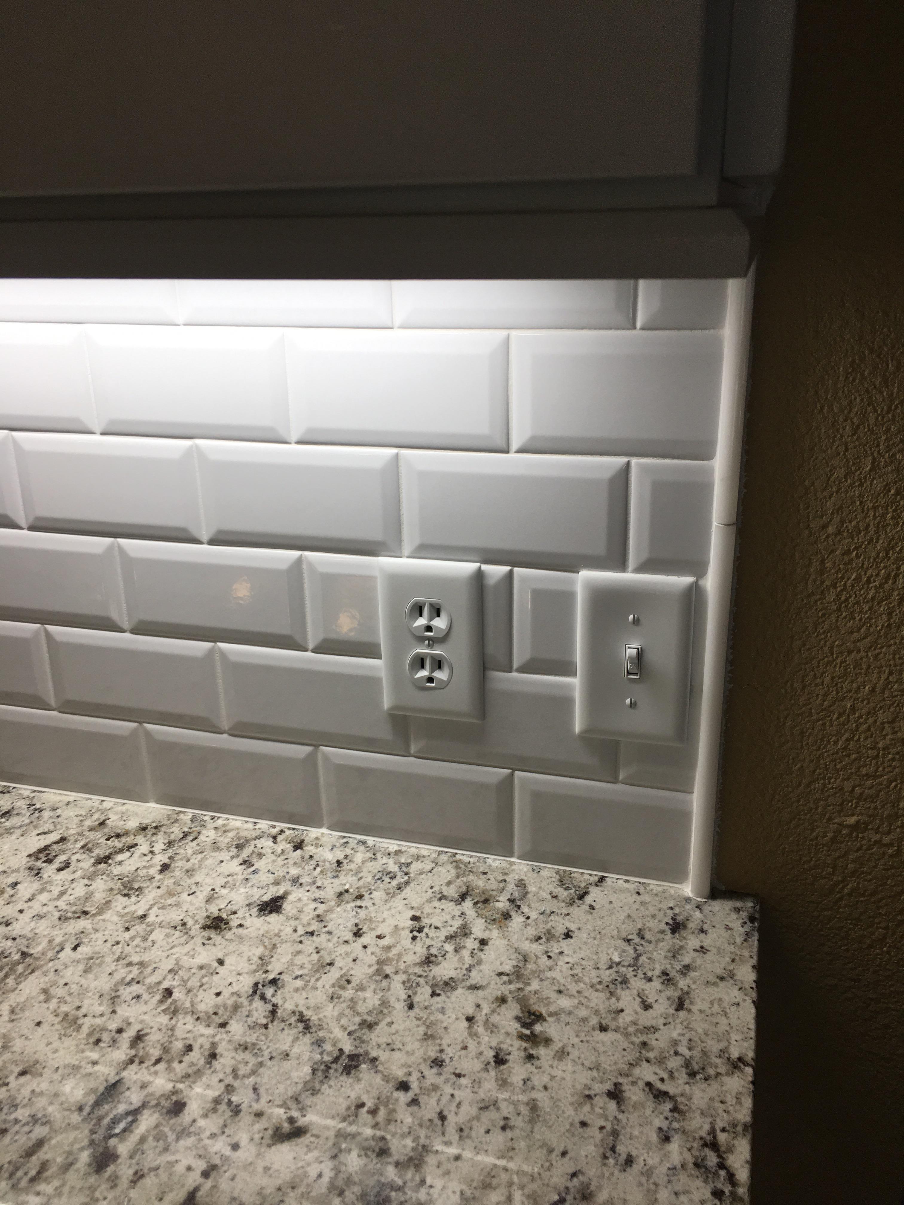 3 6 beveled edge subway tile backsplash