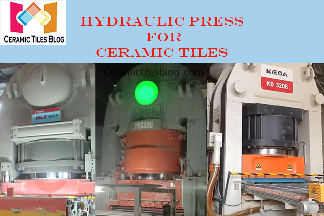 Types of Hydraulic Press for Ceramic Tiles