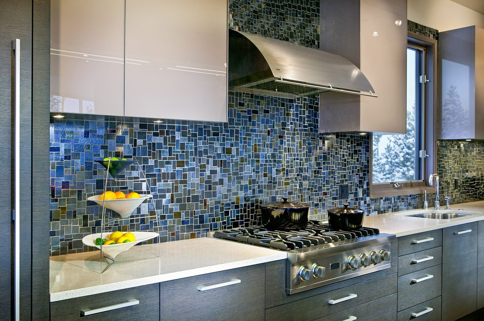 mosaic backsplash kitchen light fixture for full quartz contemporary with tile square wall tiles