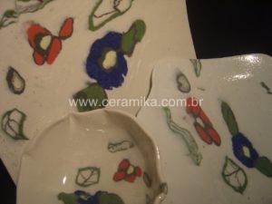 porcelana colorida com tecnica nerikomi