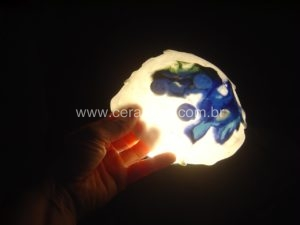 porcelana translucida bowl em nerikomi