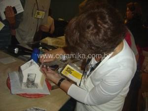 ceramista Graciela Olio palestra em congresso