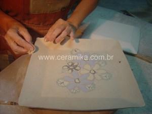tecnica inlay com porcelana