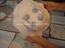 porcelana colorida