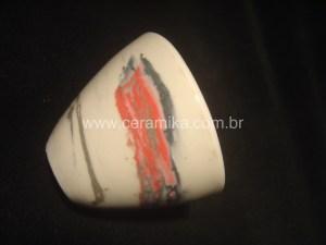 porcelana colorida com oxidos e corantes