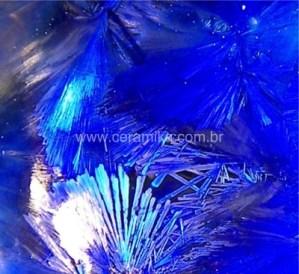 vidrado ceramico com cristalizações