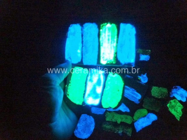 esmalte ceramico glow in the dark